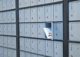 Une boîte postale physique au sein de votre centre de domiciliation